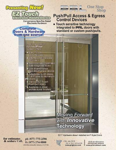 NEW! EZ Touch Electronic Door Handle Device