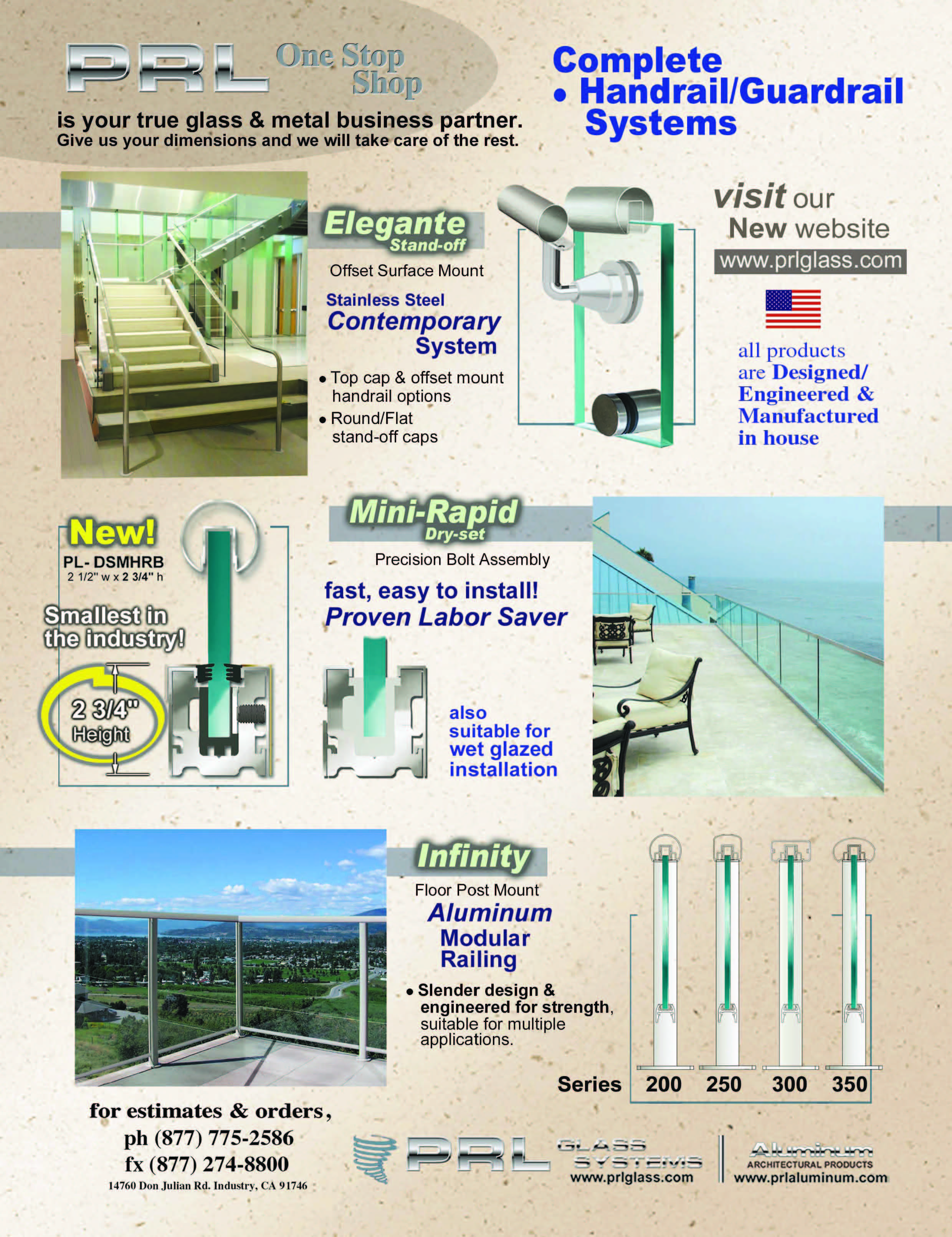 California's Leading Handrail Manufacturer