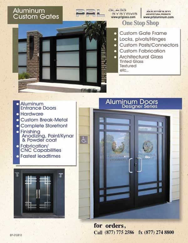 Aluminum Gates and Entrance Doors