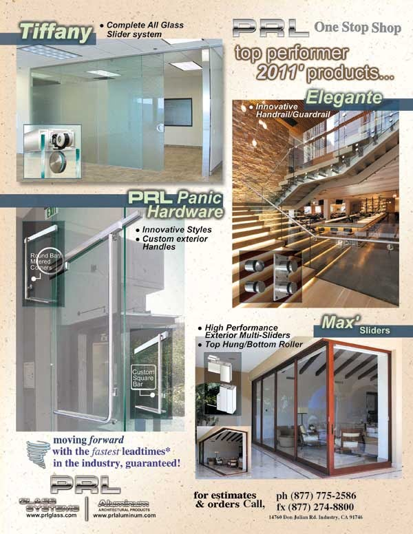 PRL Glass Systems, Inc. Leading the Glazing Industry in Architectural Glass and Metal Product Manufacturing.