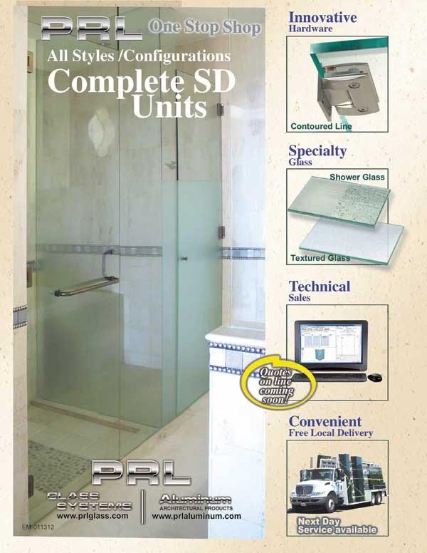 Complete Shower Door Units