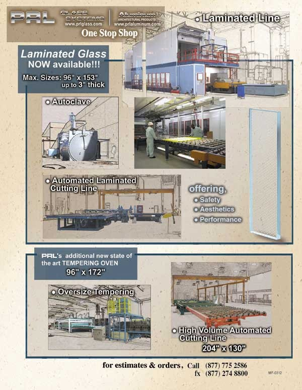 Laminated Glass Line is now in FULL FORCE!