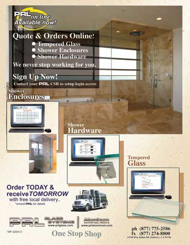 Tempered Glass Online Order and Quoting System