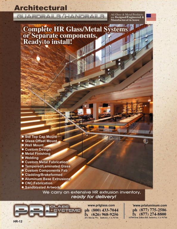 Complete Glass and Metal Handrail System Catalog