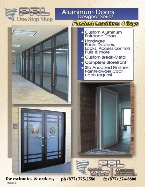 California Aluminum Door Manufacturer