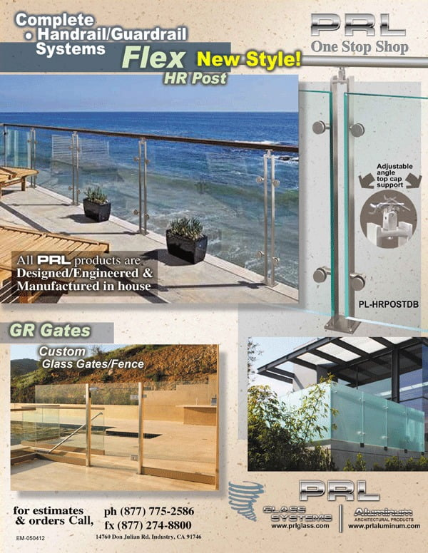 Los Angeles County Stainless Steel Railing Manufacturer