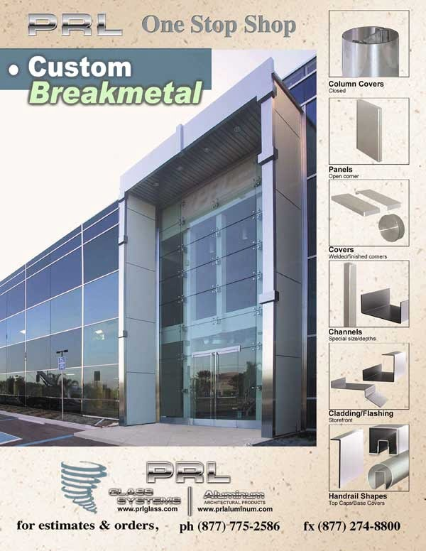 Custom Brakemetal and Architectural Metal Fabrication