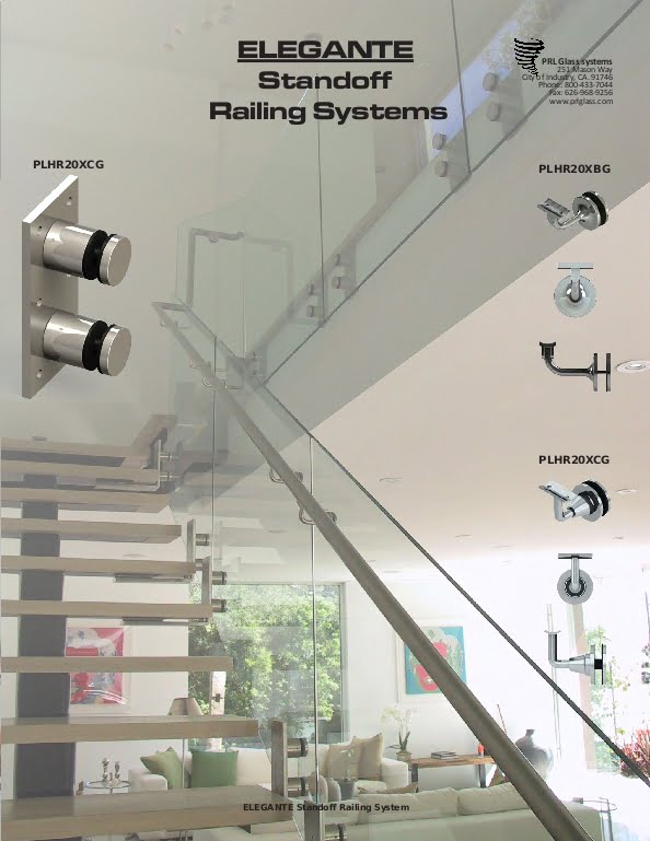 Complete Frameless Glass Standoff Railing Systems
