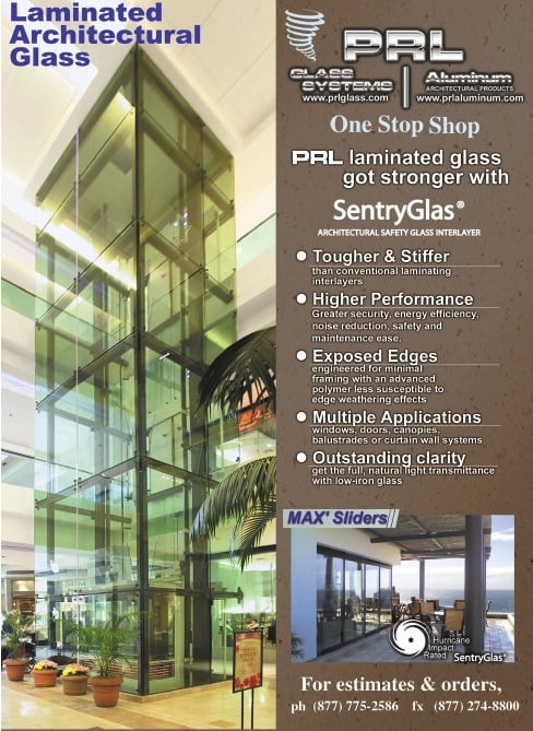 Laminated SentryGlas A More Structural Glass Inter-layer