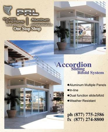 Accordion Sliding Bifold Glass Door System
