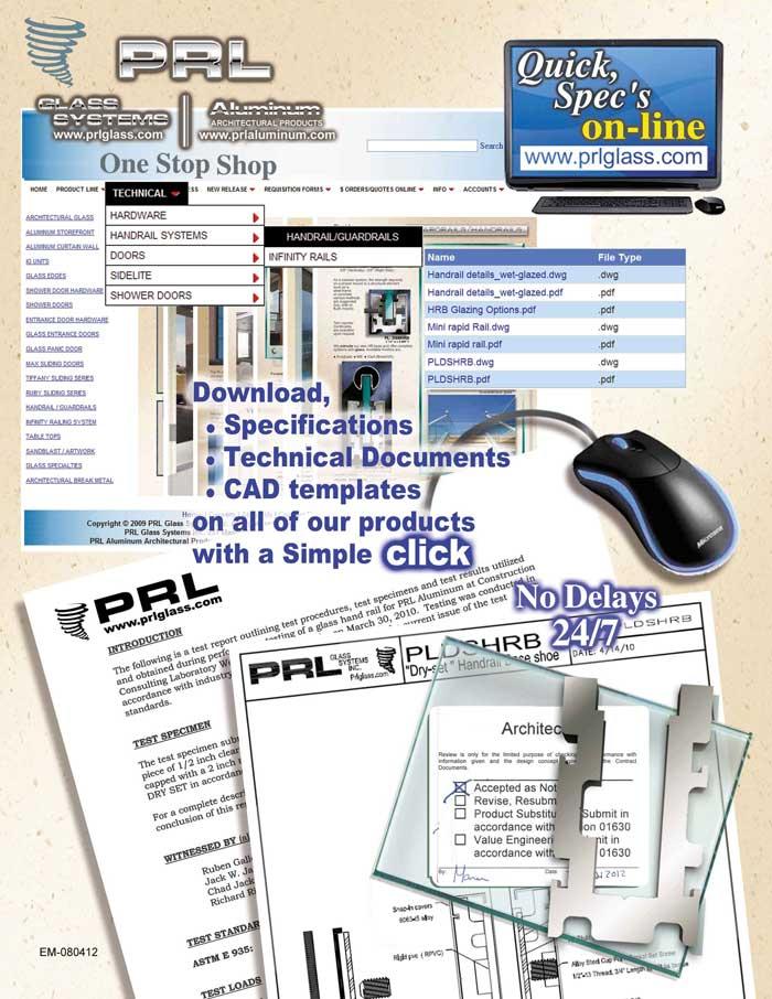Quick Specs Online Architectural Cad Details