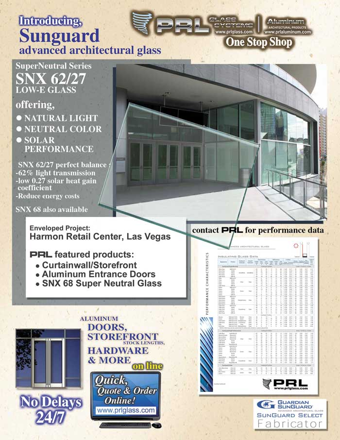 PRL adds SNX 62/27 to its variety of glass products!