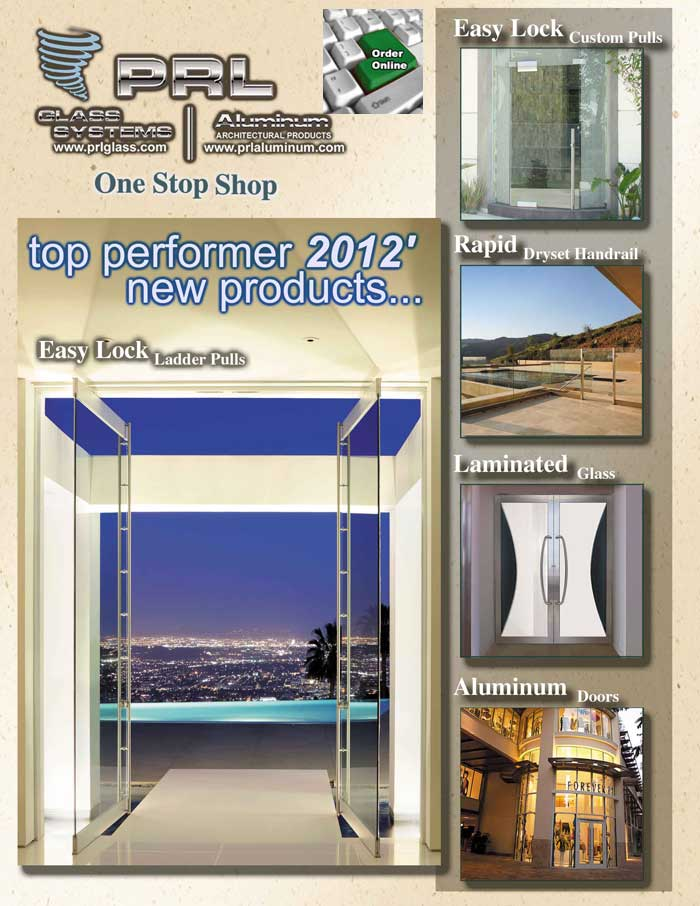 Glazing solutions / PRL 2012 top performing products