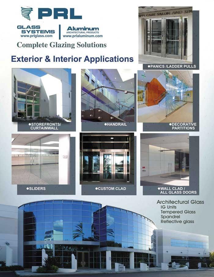 Glazing Exterior & Interior Applications