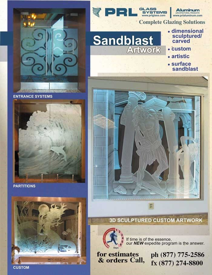 Sandblast Glass Creations at Its Max