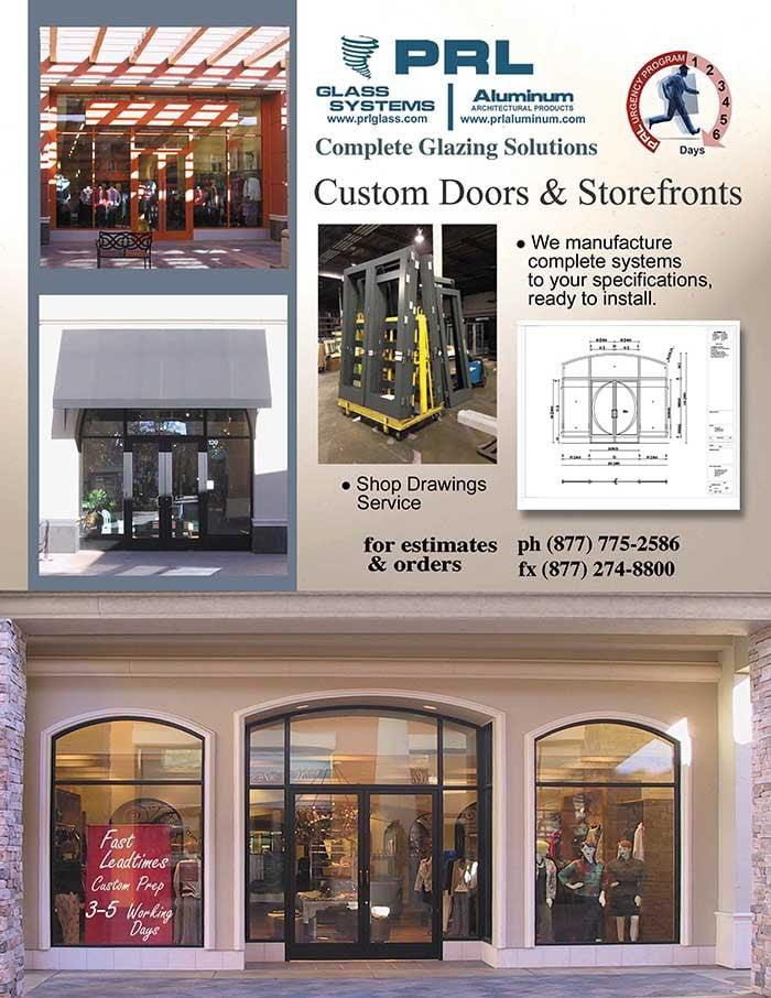 Commercial Aluminum Entrance Doors