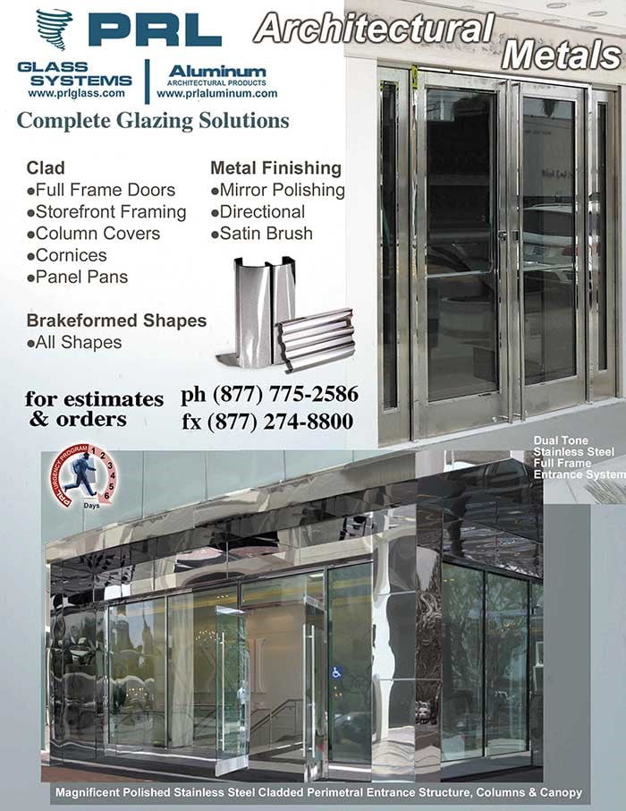 Architectural Glass and Metal – PRL Glass Systems, Inc.