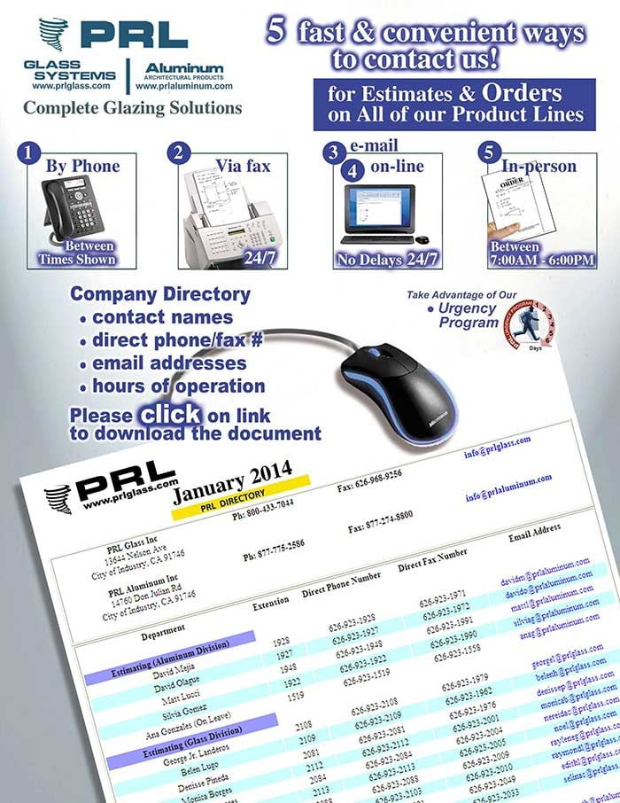 PRL Company Directory 2014