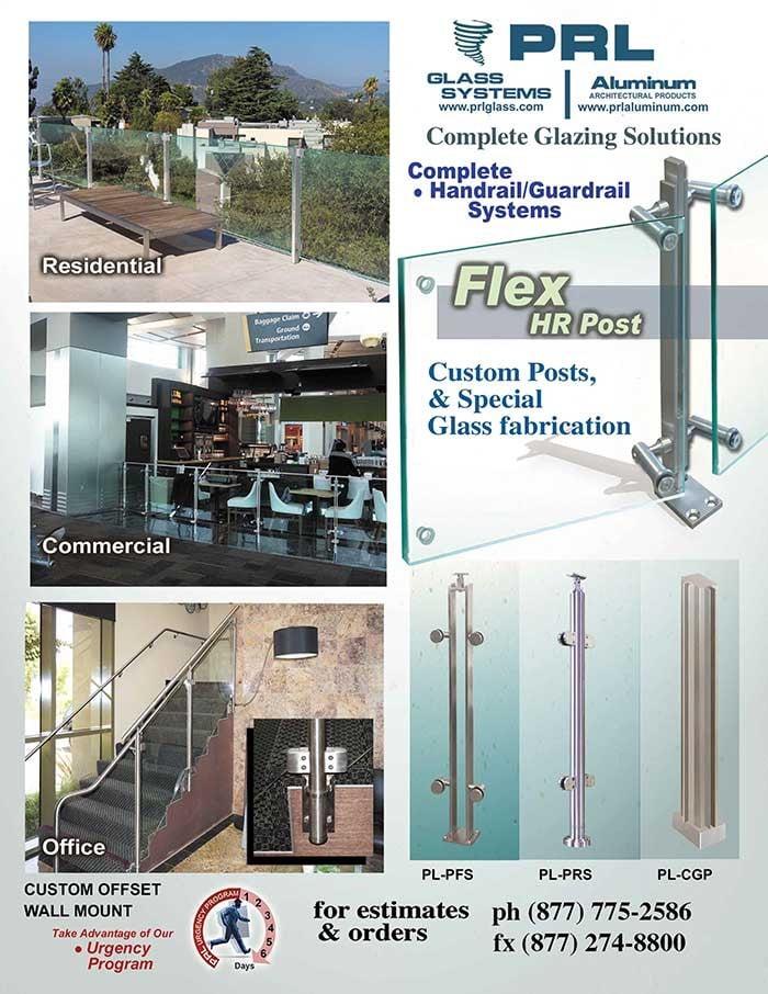 Flex Post Stainless Steel Railing