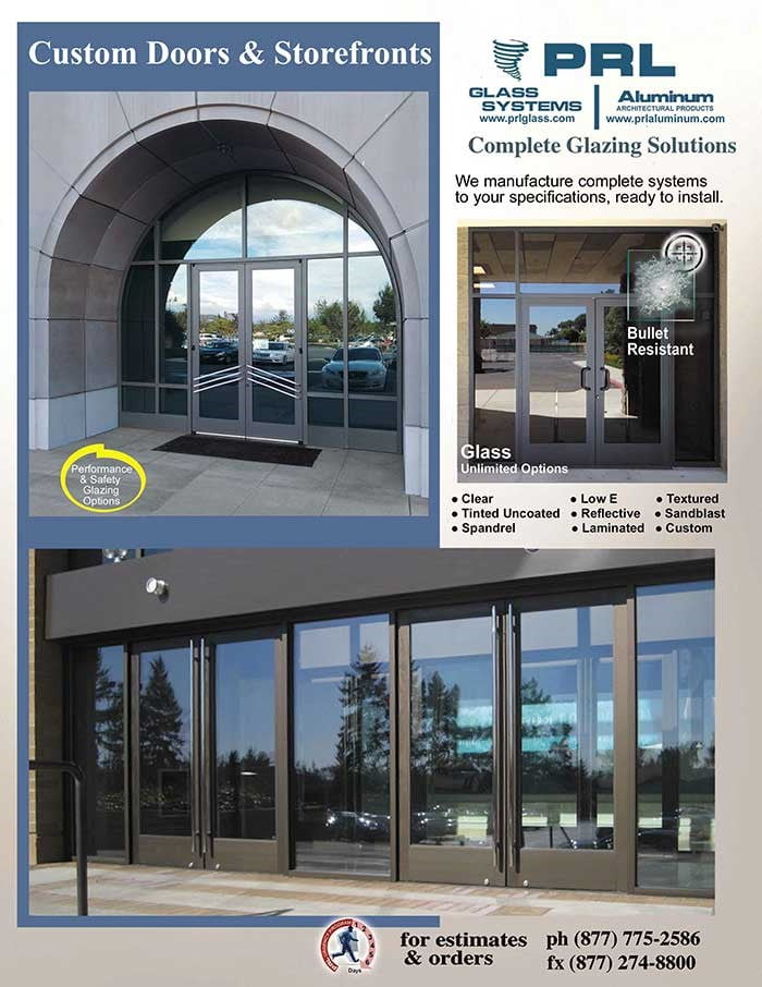 custom aluminum doors archives prl architectural glass and metal news