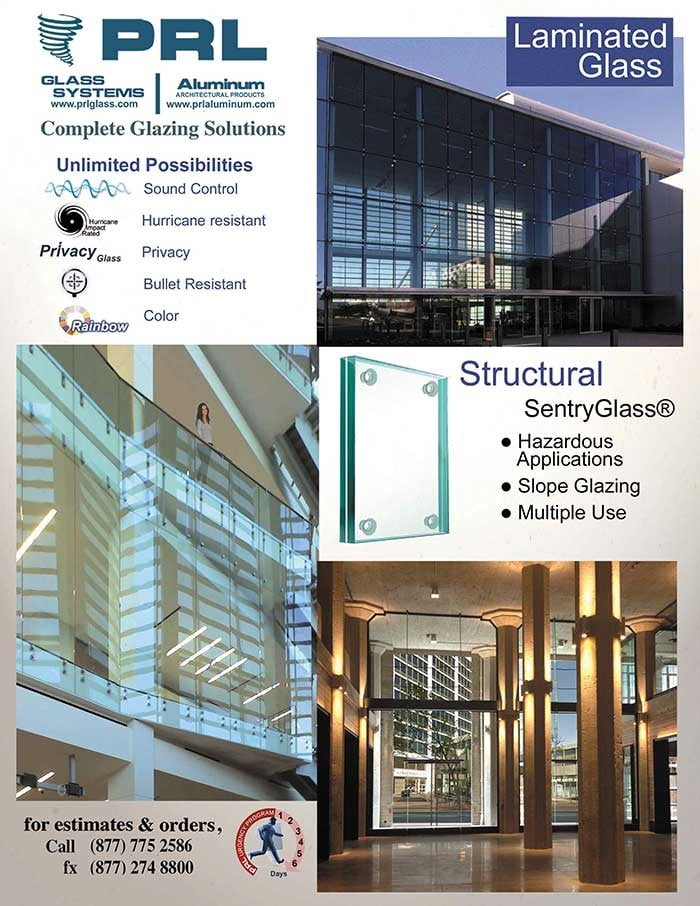 Laminated SentryGlas A More Structural Glass Interlayer