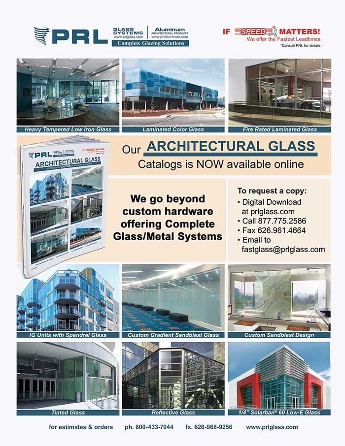 don t miss out on prl s new 2018 architectural glass catalog