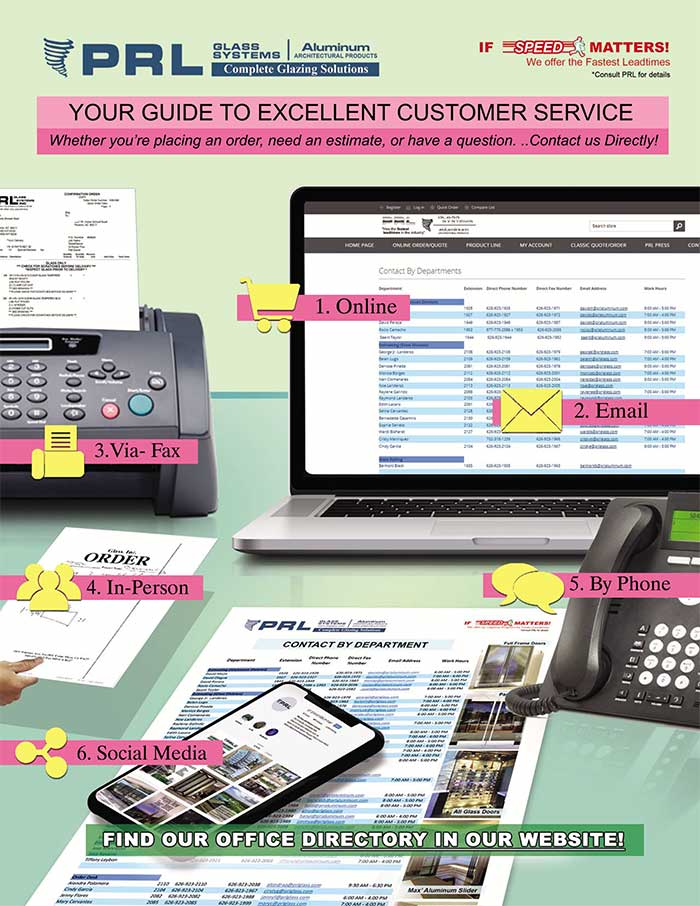 Now Available! PRL's 2020 Company Directory. Your Guide to Excellent Customer Service.