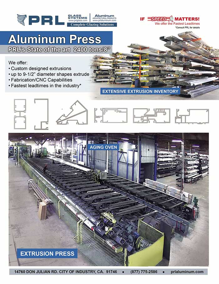 PRL's State-Of-The-Art Automated Extrusion Press: We Can Custom Extrude Aluminum Profiles!