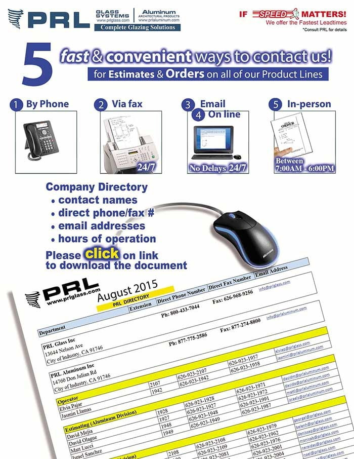 PRL Company Directory