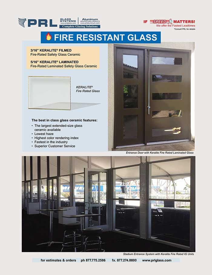 Need Keralite® Fire-Rated Glass the Next Day?