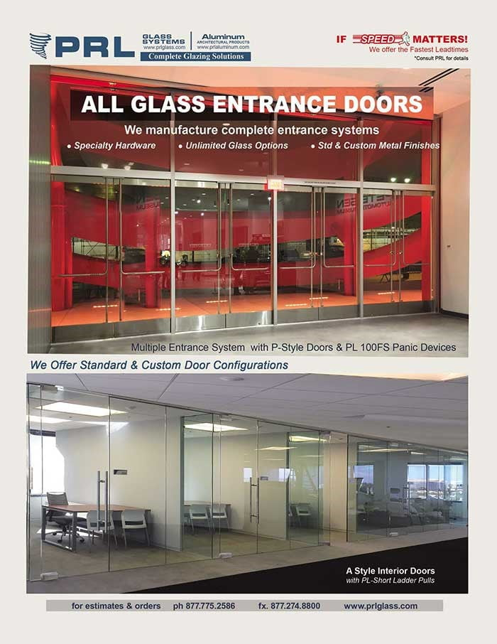 PRL All Glass Entrance Systems