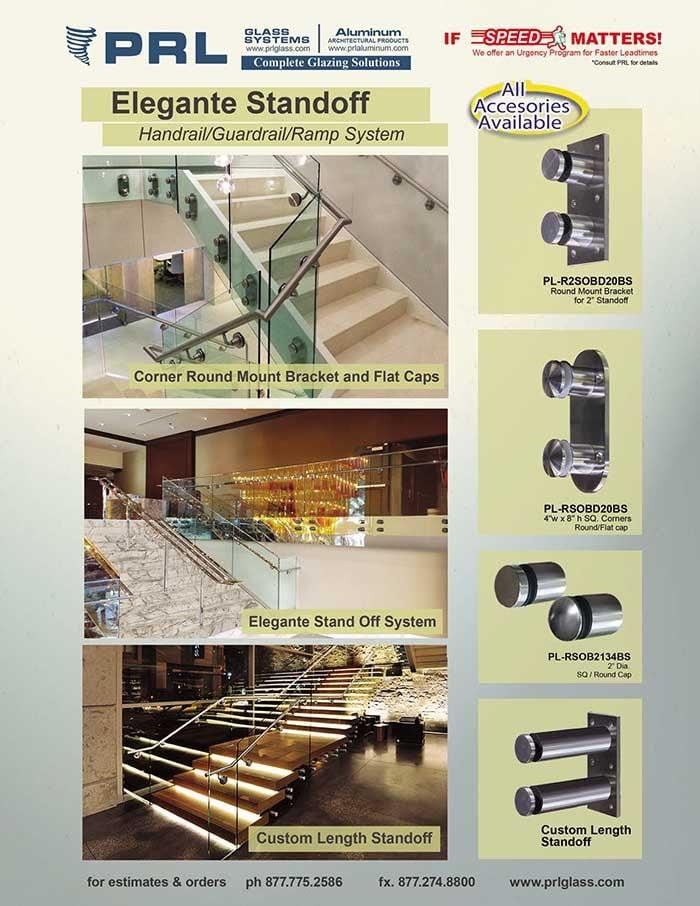 PRL Elegante Standoff Handrail System