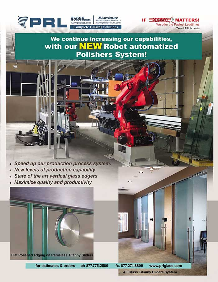 PRL's Moving into High Efficiency Technology with Our NEW Robot Polisher System!