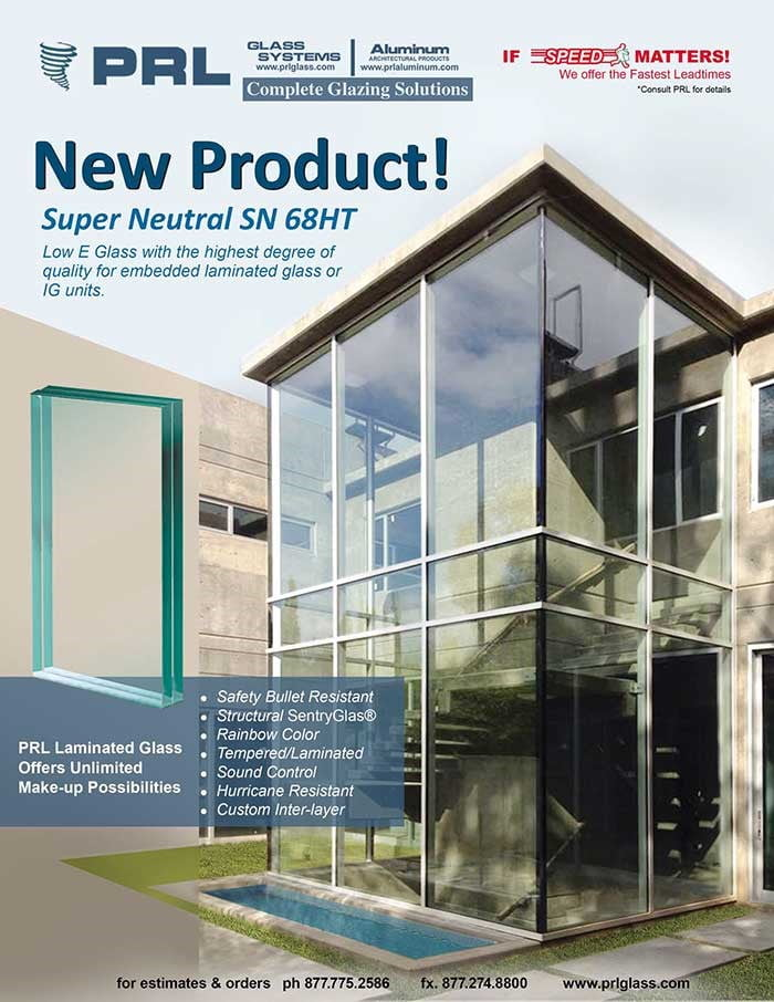SuperNeutral 68HT for Embedded Laminated Glass