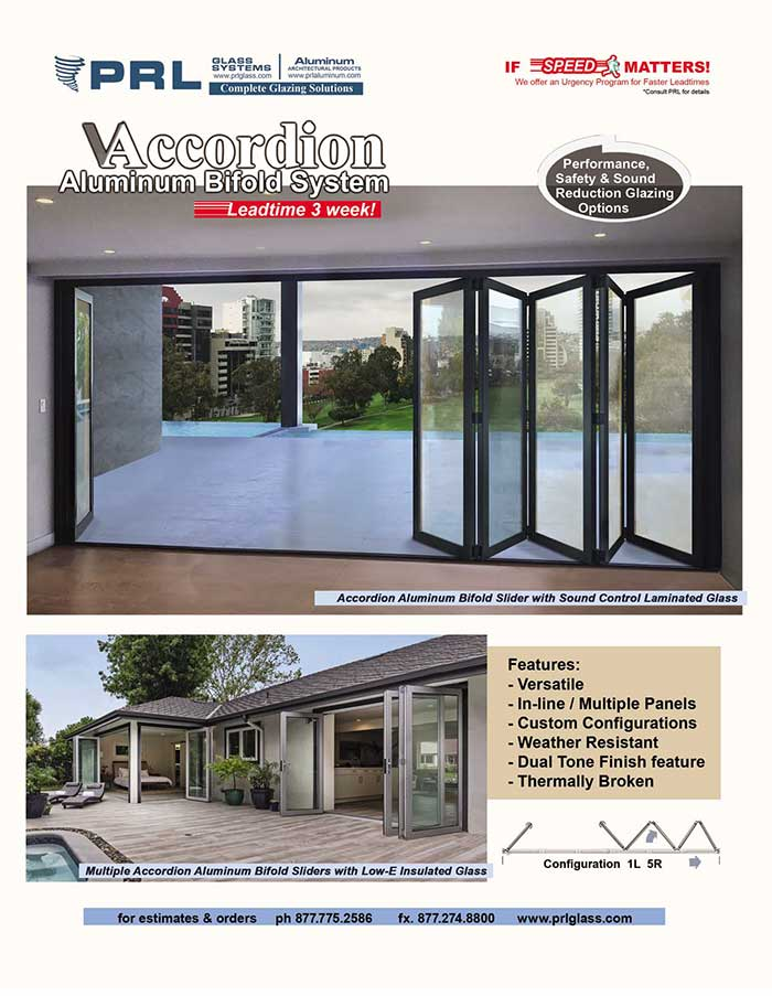 Prls Accordion Bifold Door Systems One Of Our Top Sellers Prl
