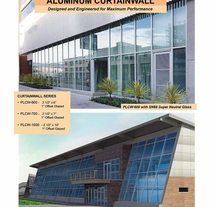 Aluminum Curtain Wall Systems