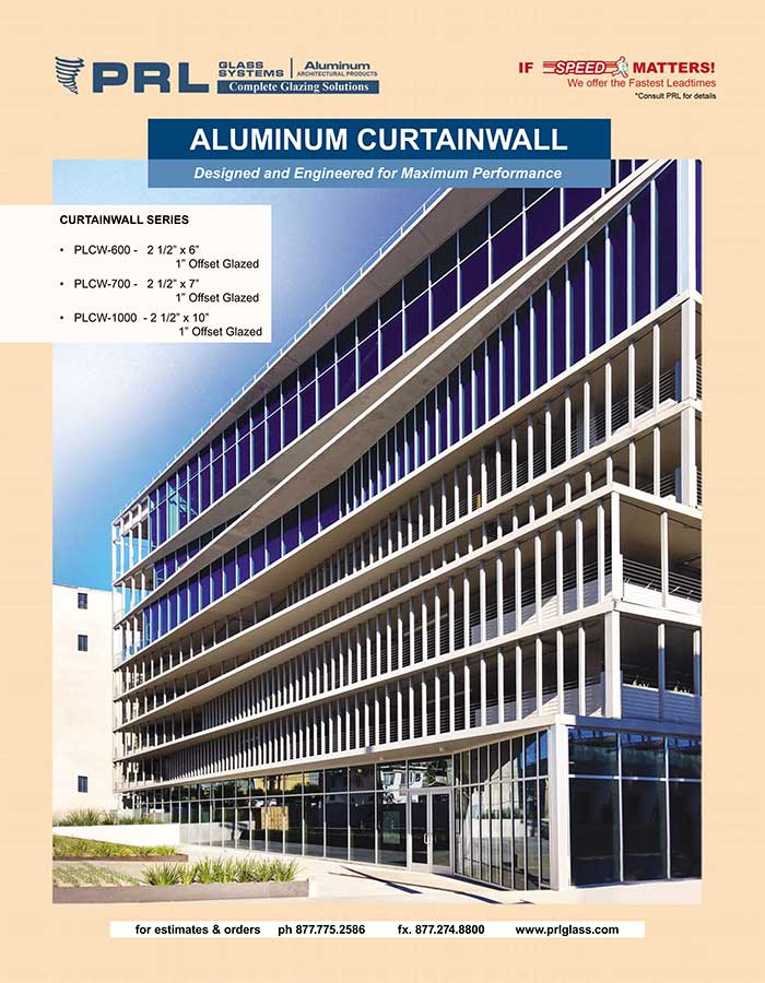 aluminum curtain walls