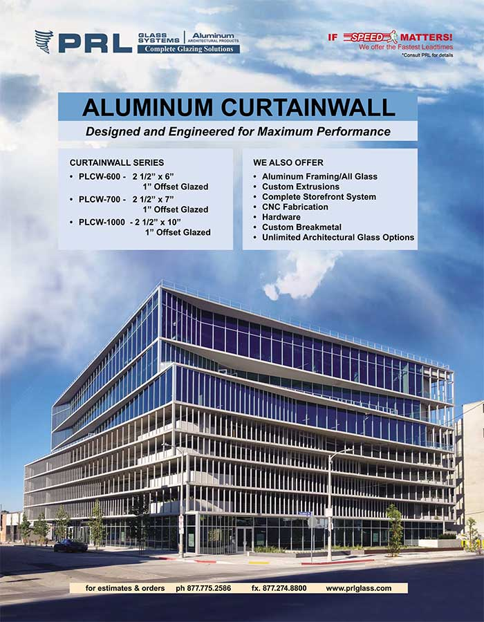 aluminum curtainwall