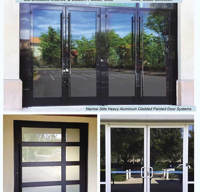 PRL's Aluminum Doors. Exterior Entrance Doors You Can Be Sure of