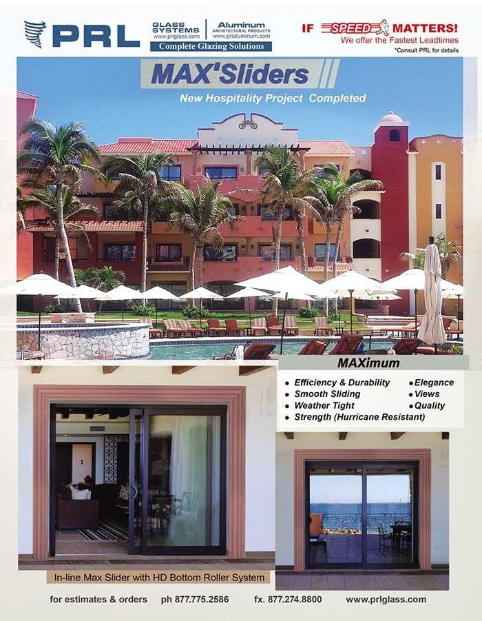 PRL Max Aluminum Slider Door System Goes International