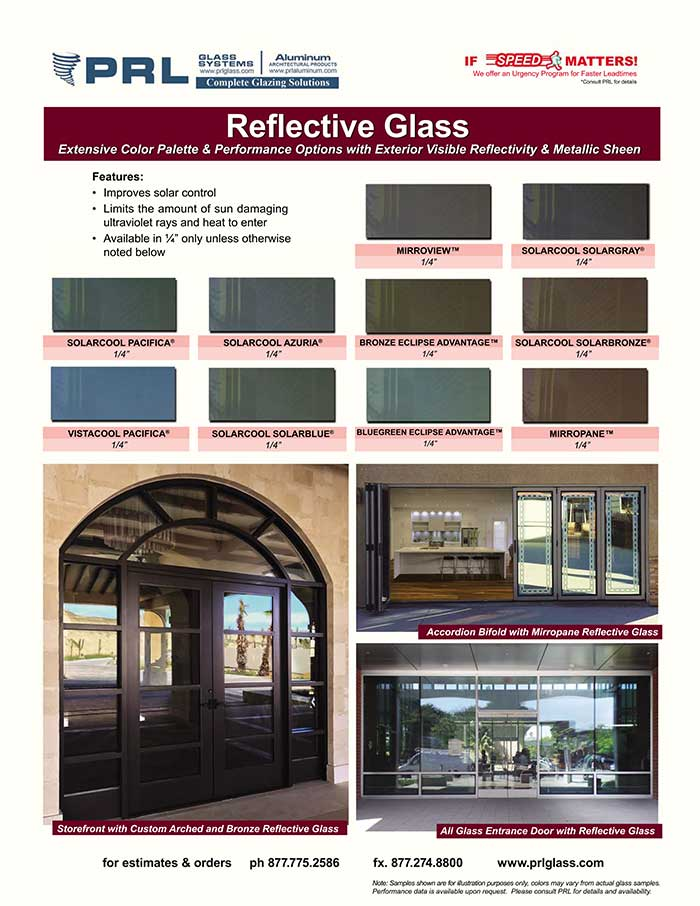 Architectural Reflective Glass