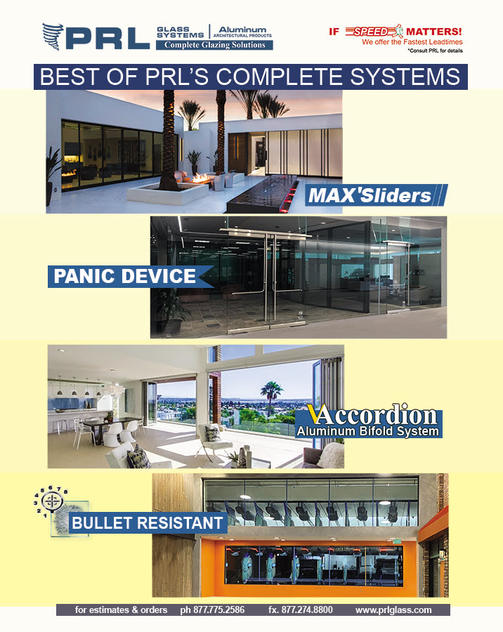 Best of PRL's Complete Systems. Get Panic, Bifold & Sliding Doors with Us!