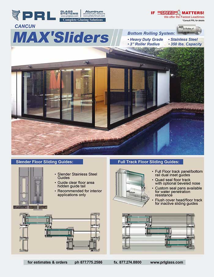 PRL's Cancun Bottom Rolling Max Sliders: A smart solution for your project!
