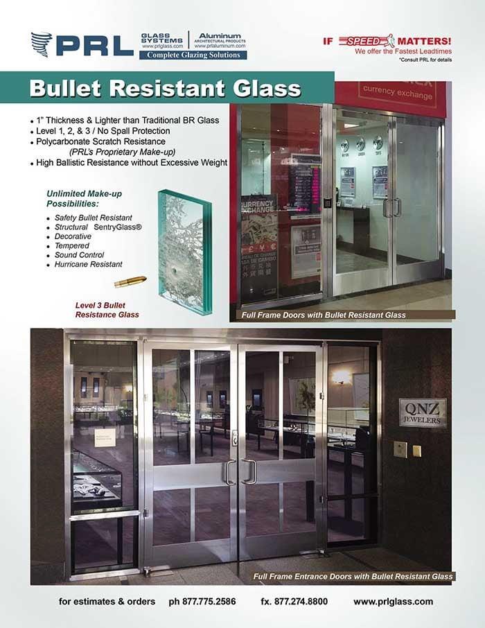Bullet Resistant Glass