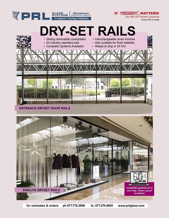 Buy Rapid Dryset Sidelite & Door Rails at PRL