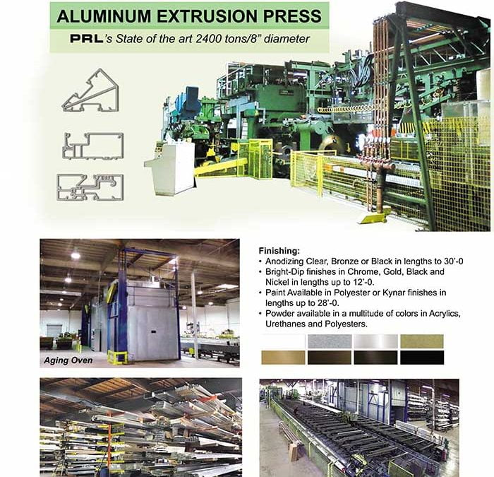 Think of PRL for your Custom Aluminum Extrusions Needs!