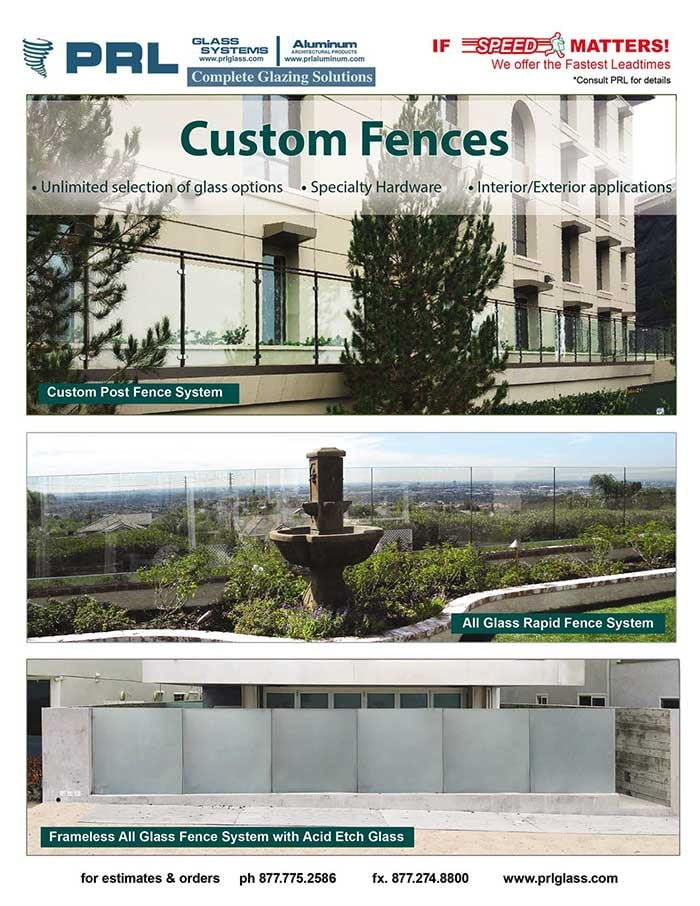 Glass and Metal Custom Fencing