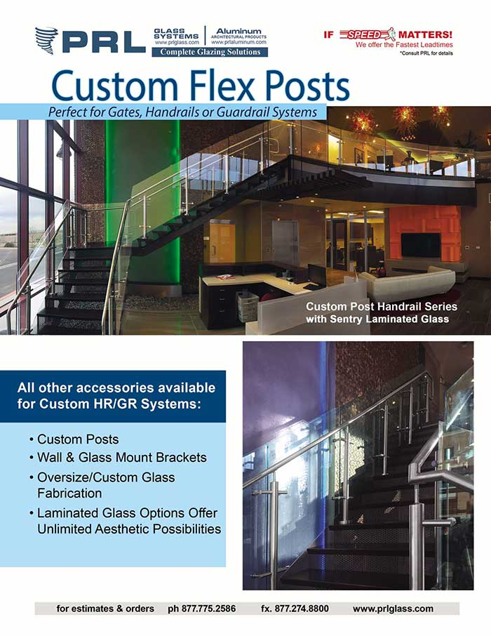 PRL's Handrail/Guardrail FLEX POST