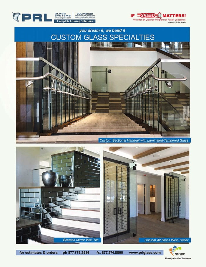 PRL's Custom Glass Specialties. If You Can Envision It, We Can Create It