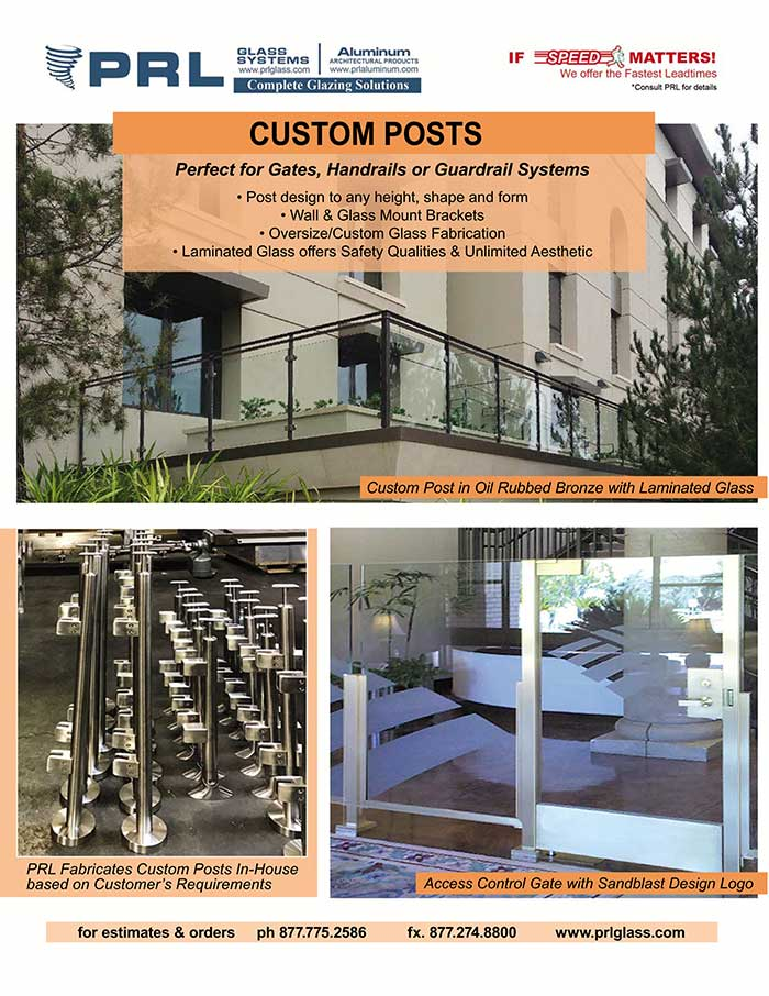 Discover the advantages of PRL Custom Handrail and Guardrail Posts!